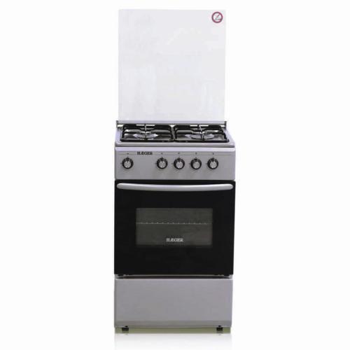 Cocina de gas 50x50 Gris e Inox