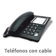 teléfonos con cable
