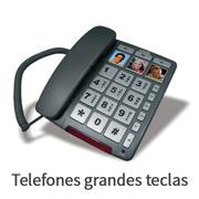 Telefones grandes teclas